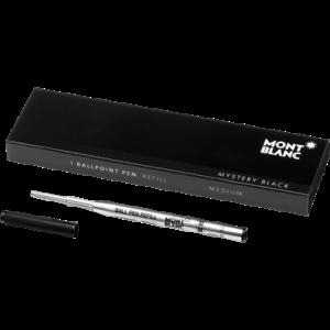Montblanc 1 Ballpoint Pen Refill Mystery Black (M)