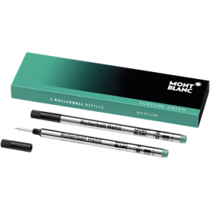Montblanc 2 Rollerball Refills Fortune Green (M)