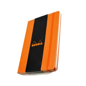 Rhodia Webnotebook A5 – Orange – Dot