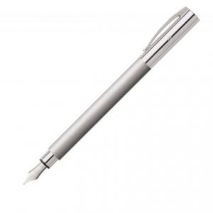 Faber-Castell Ambition Fountain Pen Stainless Steel