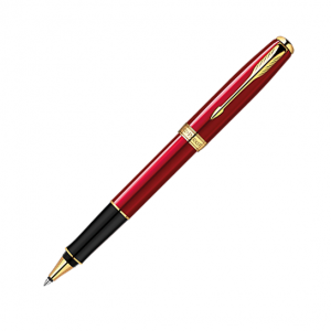 Parker Sonnet Red Lacquer GT Rollerball Pen