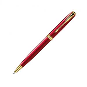 Parker Sonnet Red Lacquer GT Ballpoint Pen