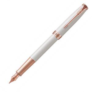 Parker Sonnet Pearl & RGT Fountain Pen