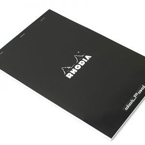 Rhodia DotPad Notepad - Black - Dot Grid