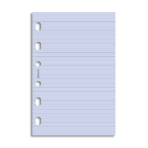 Filofax Pocket - Ruled Notepaper - Lavender