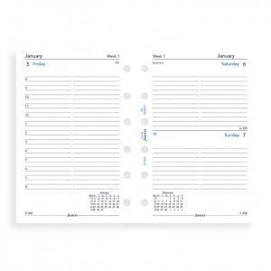 Filofax Pocket - Day Per Page - 2021