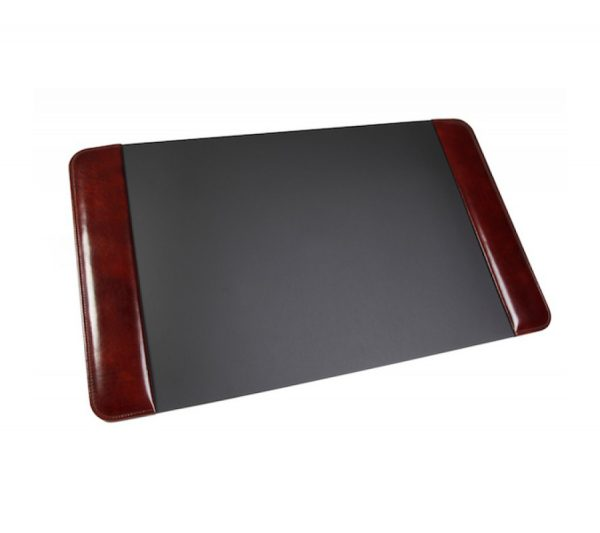 "Old Leather Classic Desk Pad 20"" X 34"" - Dark Brown"