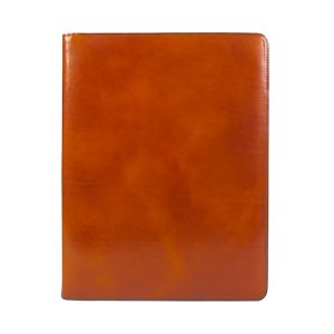 Bosca Old Leather Classic 8 1/2 X 11 Writing Pad Cover - Amber
