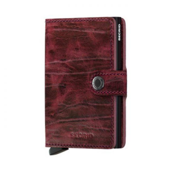 Secrid Mini Wallet Card Holder Dutch Martin Bordeaux