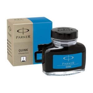 Parker Quink Bottle - Washable Blue
