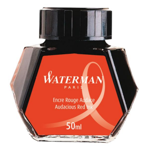 Waterman Ink Bottle Audacious Red