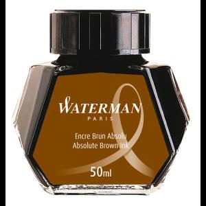 Waterman Ink Bottle Absolute Brown