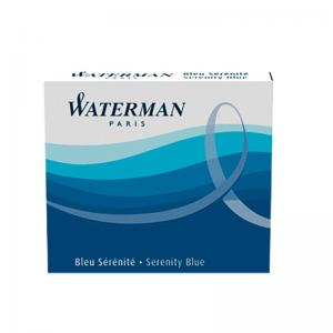 Waterman Long International Cartridge Serenity Blue