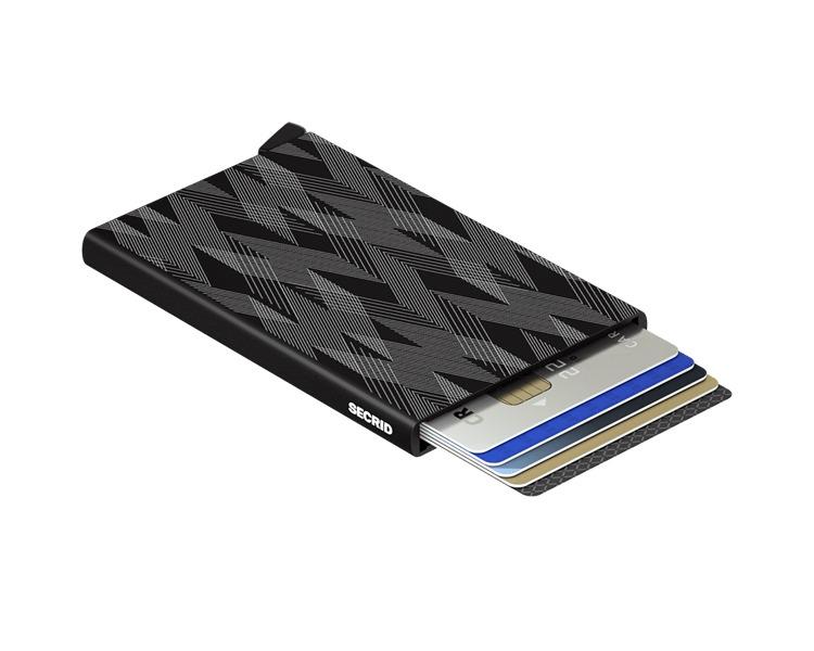 Secrid Cardprotector Lazer Zigzag Black Charals Vancouver Fine