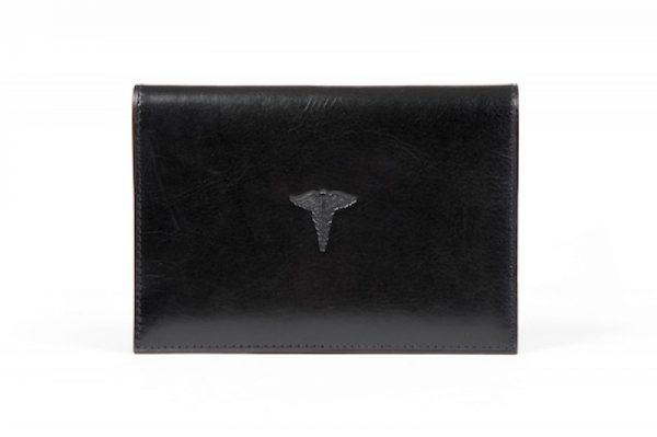 Old Leather Classic Prescription Pad - Black