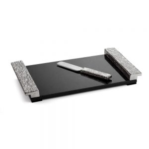 Michael Aram Block Cheese Board w/knife