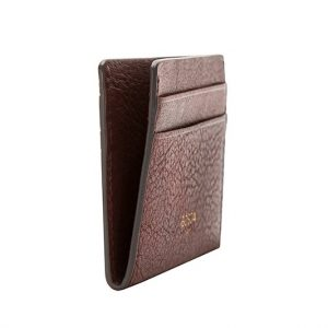 Bosca Washed Weekend Wallet Dark Brown