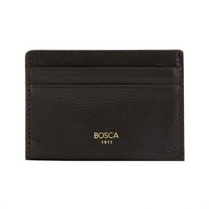 Bosca Washed Weekend Wallet Black