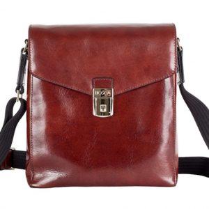 Bosca Old Leather City Bag Dark Brown