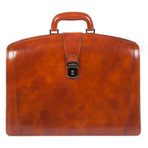 Bosca Partners Briefcase Amber
