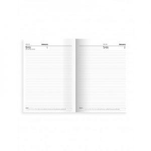 Letts 10ZBK Principal A4 Daily Diary 2021