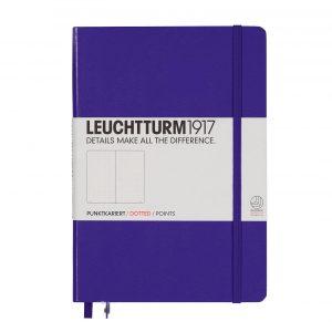 Leuchtturm 1917 Medium A5 Dot Grid Notebook – Purple