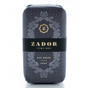 Zador Fine Red Grape Soap