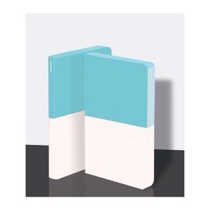 Nuuna Notebook Graphic Dipped Turq/White Medium