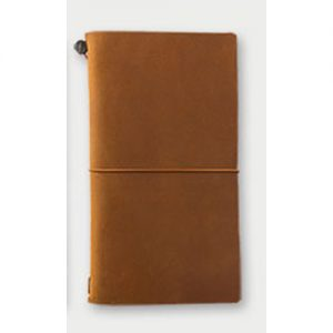 Traveler's Company Notebook Regular – Camel
