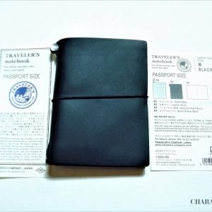 Traveler's Company Notebook Passport - Black