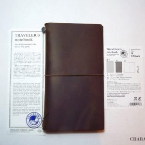 Traveler's Company Notebook Regular - Brown