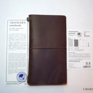 Traveler's Company Notebook Regular – Brown