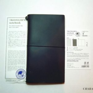 Traveler's Company Notebook Regular - Black