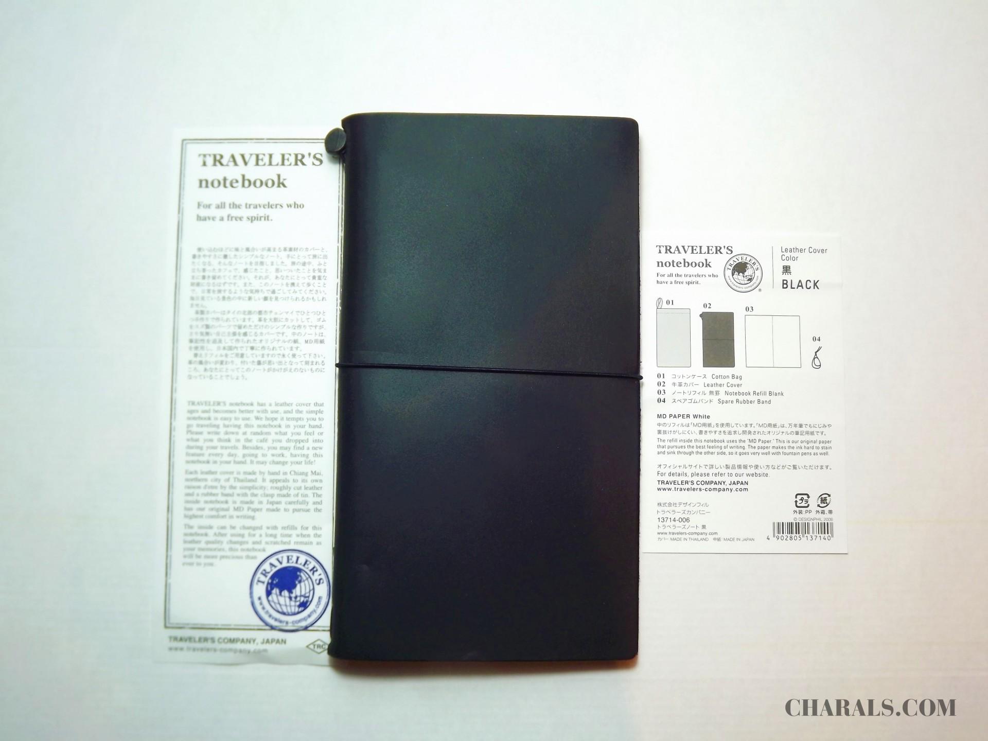 Traveler S Company Notebook Regular Black