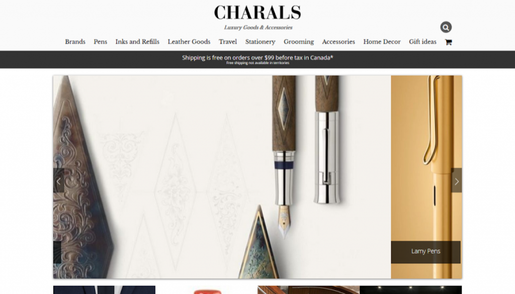 06294557451 The New CHARALS Website! - CHARALS Vancouver, Fine Pens, Luggage, Leather  Goods, Stationery, Organizers, Desk Accessories, Men s Grooming, ...
