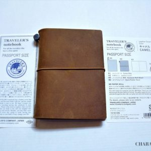 Traveler's Company Notebook Passport - Camel
