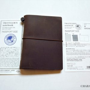 Traveler's Company Notebook Passport – Brown