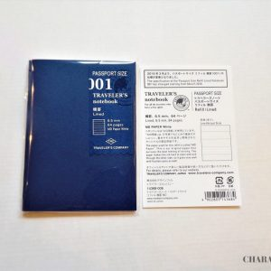 Traveler's Notebook Lined Refill for Passport
