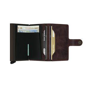 Secrid Miniwallet Vintage Chocolate Brown