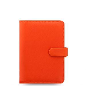 Filofax Saffiano Bright Orange Organizer (Personal)
