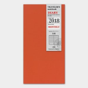 Traveler's Notebook Monthly Diary 2021 Refill Regular