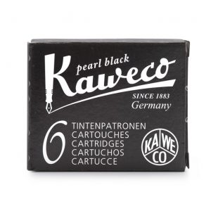 Kaweco Ink Cartridges 6 pk - Pearl Black