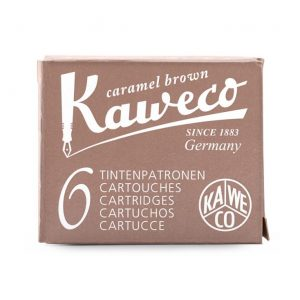 Kaweco Ink Cartridges 6 pk - Caramel Brown