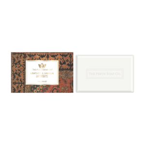 Perth Soap Co. Leather & Vanilla Cleansing Bar