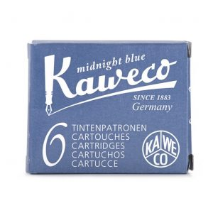 Kaweco Ink Cartridges 6 pk - Midnight Blue