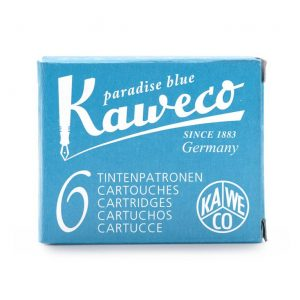 Kaweco Ink Cartridges 6 pk - Paradise Blue