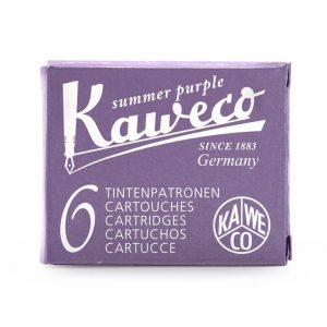 Kaweco Ink Cartridges 6 pk - Summer Purple