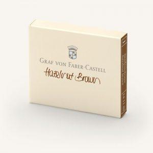 Graf Von Faber-Castell Ink Cartridges - Hazelnut Brown