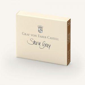 Graf Von Faber-Castell Ink Cartridges - Stone Grey