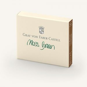Graf Von Faber-Castell Ink Cartridges - Moss Green